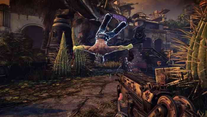 Bulletstorm Full Clip Edition Top Screen