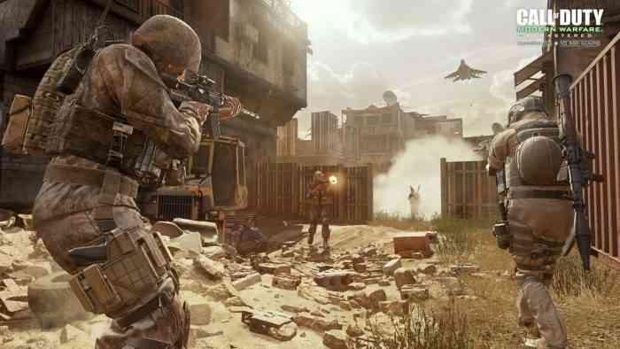 Call of Duty Modern Warfare Remastered top