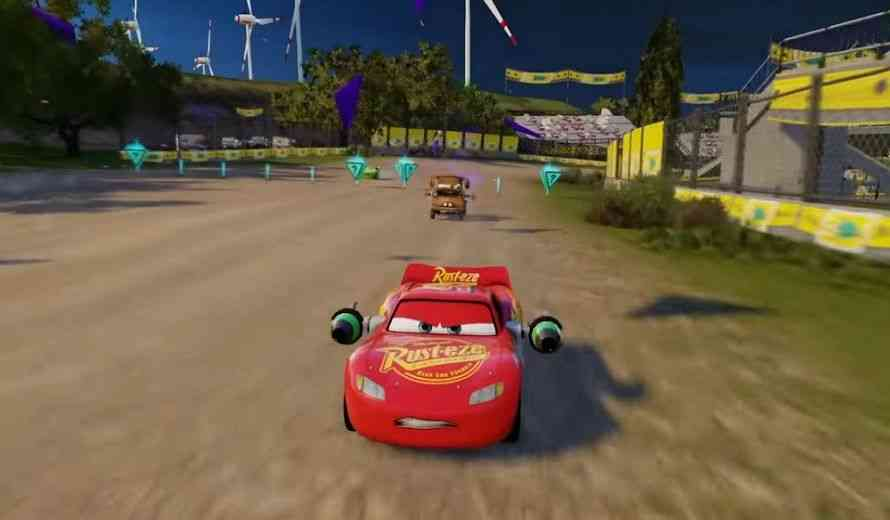 cars 3 driven to win revealed for ps4 xbox one nintendo switch last gen consoles. Black Bedroom Furniture Sets. Home Design Ideas
