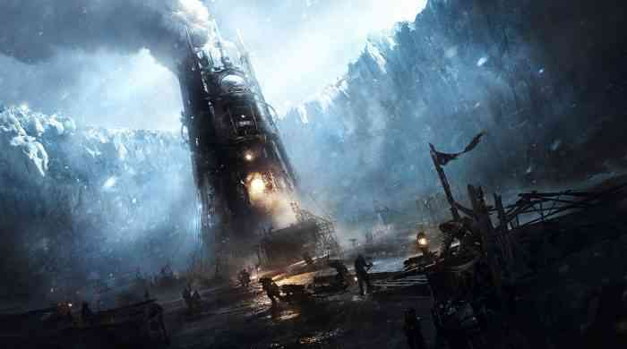 Frostpunk 'Generator' Artwork and Top Screen