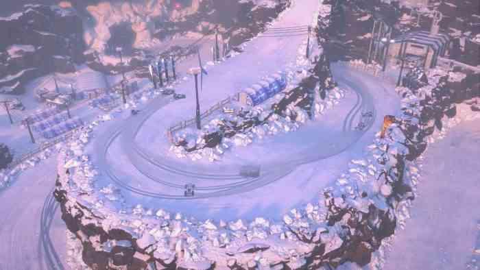 Mantis Burn Racing Snowbound TOP SCREEN
