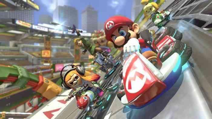 Mario Kart 8 Deluxe Screen