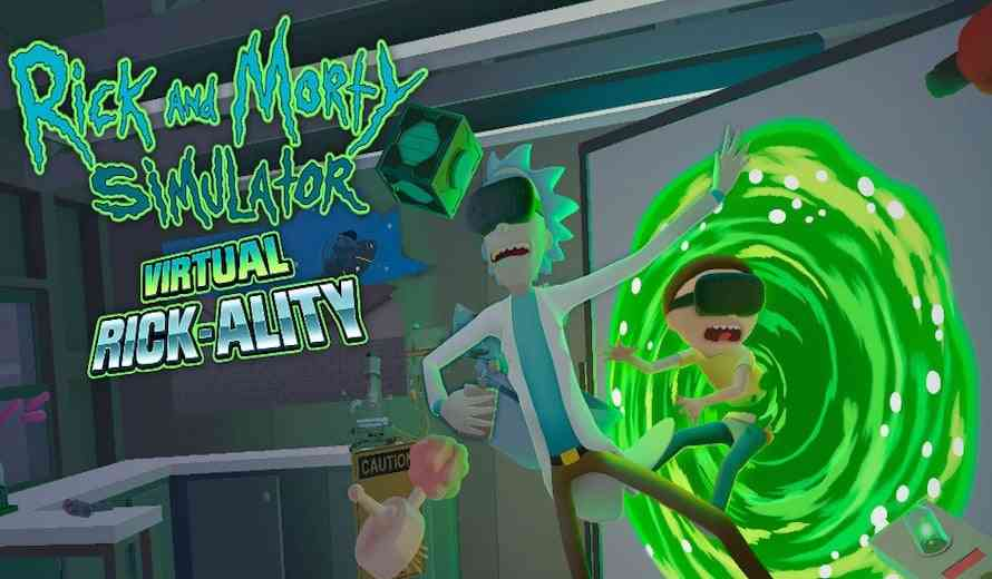 rick and morty vr game gets a special quotholidayquot release date