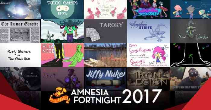 double fine game jam amnesia fortnight