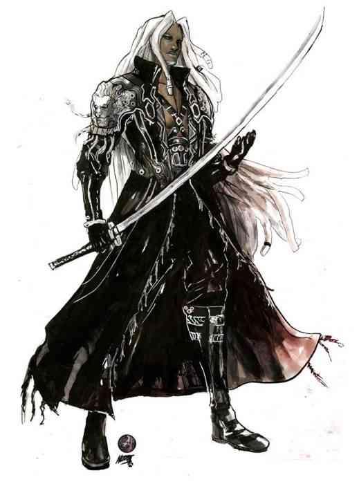 FF7 Main Cast Sephiroth
