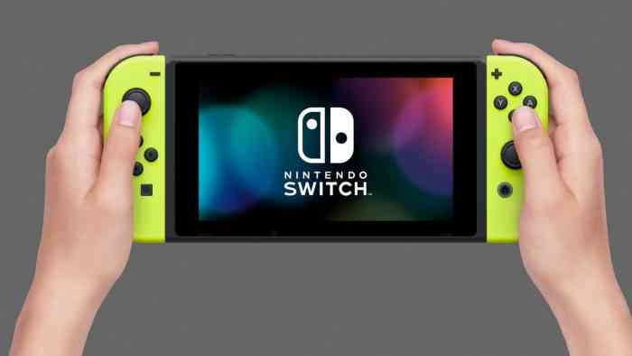 nintendo switch yellow joy-con