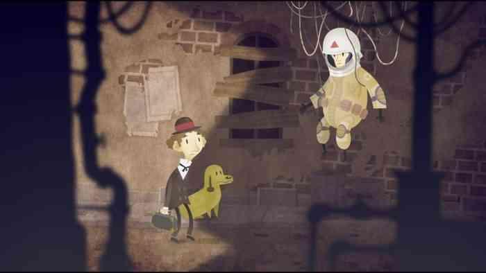 The Franz Kafka Videogame top screen