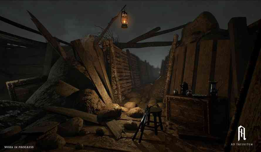 Revealing Ad Infinitum, the New Horror Game Set in World War I