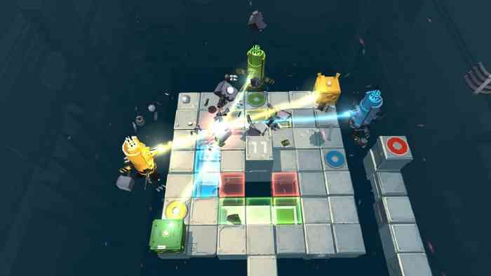 death squared hits nintendo switch