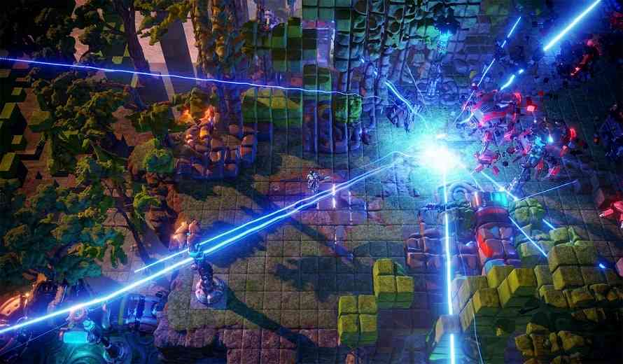 Intense Arcade Shooter, Nex Machina, Releases Today for PS4 & PC