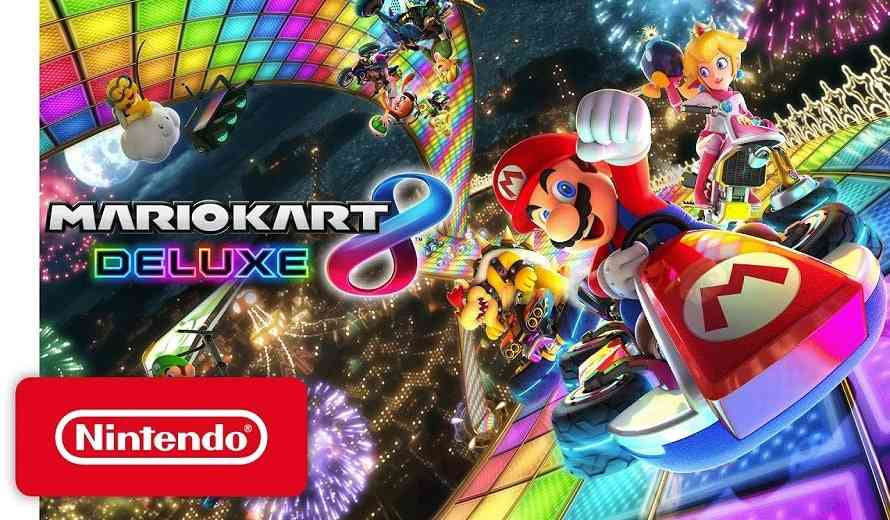 Super Mario Kart 8 Deluxe Races to the Top of the UK Sales Charts