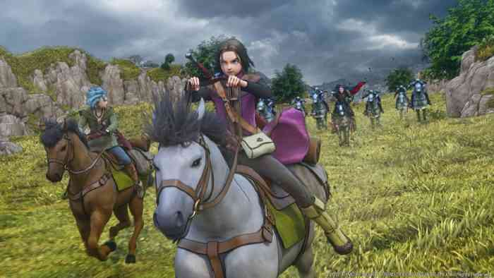 New gameplay footage shown at Countdown Carnival — Dragon Quest XI