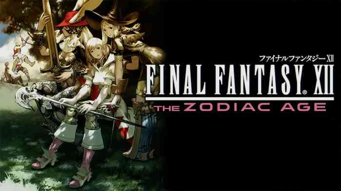 Final Fantasy XII: The Zodiac Age remasters