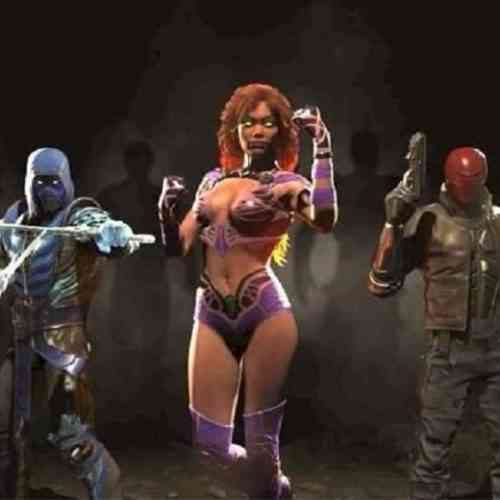 NetherRealm Studios Injustice 2 Silhouettes