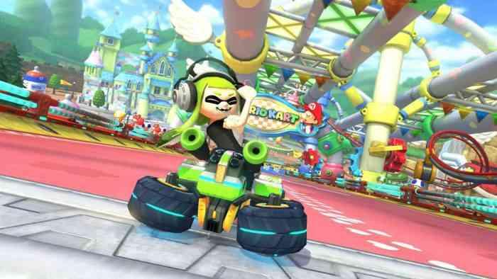 Inkling Girl Rude Mario Kart 8 Deluxe