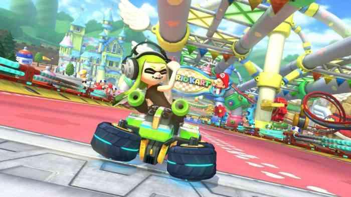 Inkling Girl Mario Kart 8 Deluxe