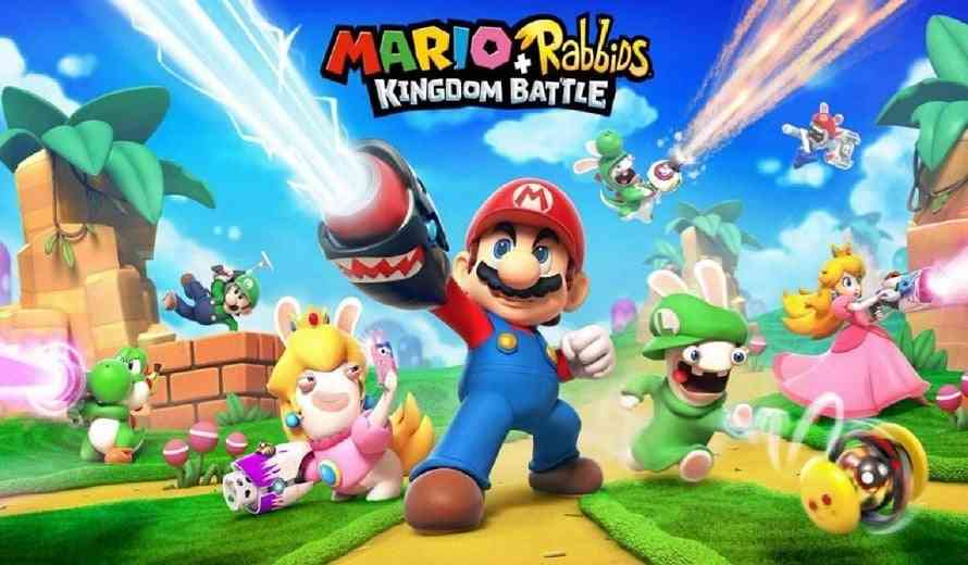 rabbid peach invades instagram Mario + Rabbids Kingdom Battle