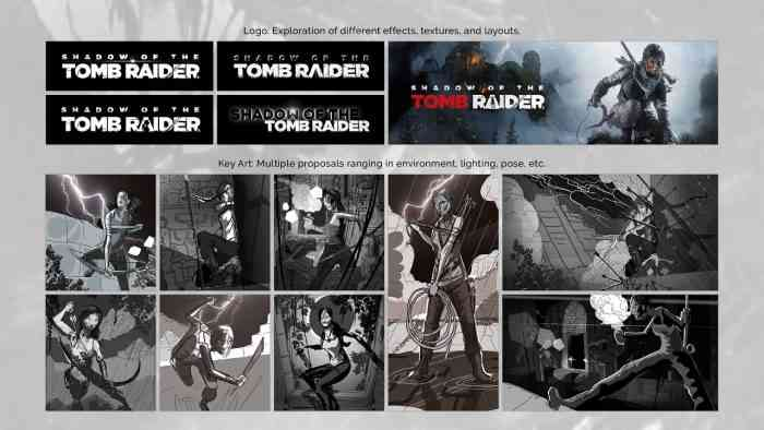 Rumor: Possible Shadow of the Tomb Raider logos and key artworks leaked