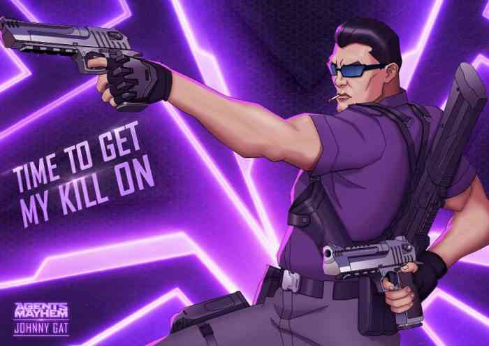 Agents of Mayhem Welcomes Saints Row's Johnny Gat As Pre-Order Bonus