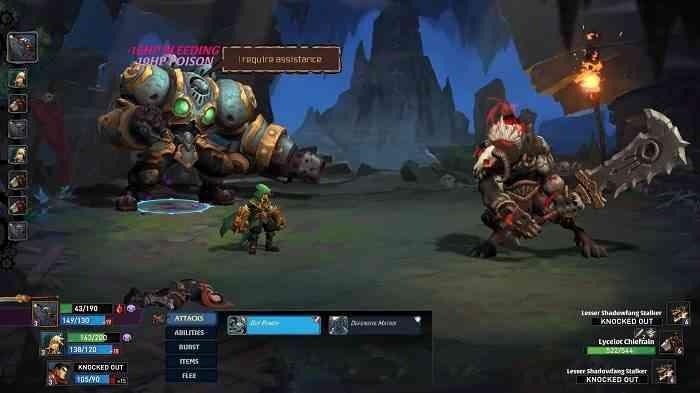 Battle Chasers: Nightwar Combat