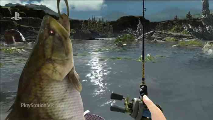 final fantasy xv 39 monster of the deep 39 is vr fishing