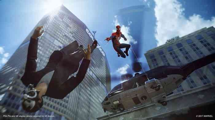PS4 Exclusive Spider-Man Behind-The-Scenes Video Revealed at D23 Expo