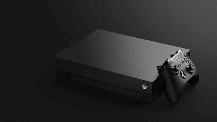Xbox One X console calculated decision