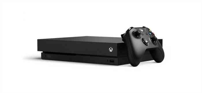 Xbox One X console