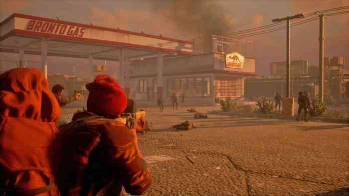 State of Decay 2 gas station