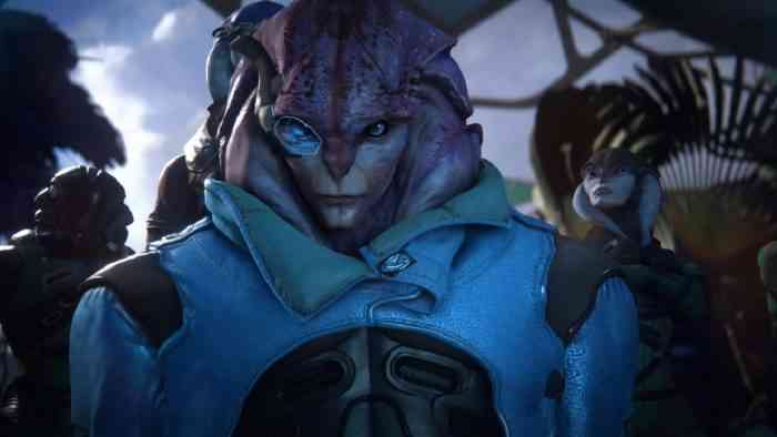 Andromeda's New Patch Finally Lets Ryder Bang the Hunkiest Alien