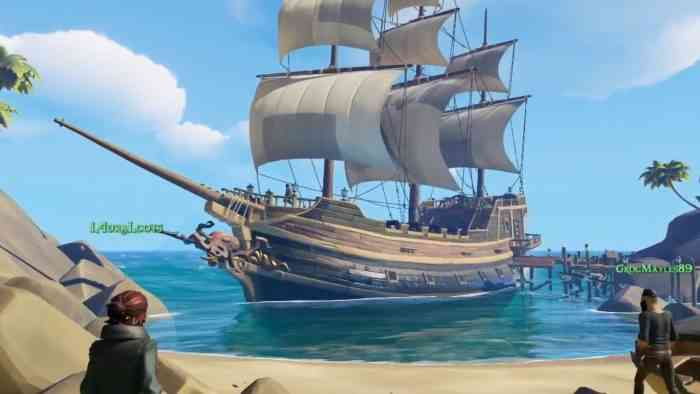 Rare calls for players to try the Sea of Thieves alpha test