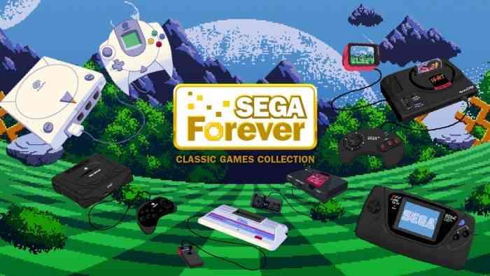 SEGA Forever Launching Globally across Mobile App Stores