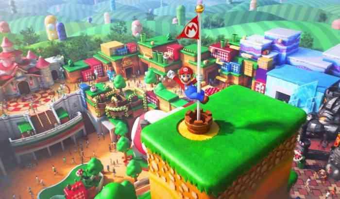 Super Nintendo World feature