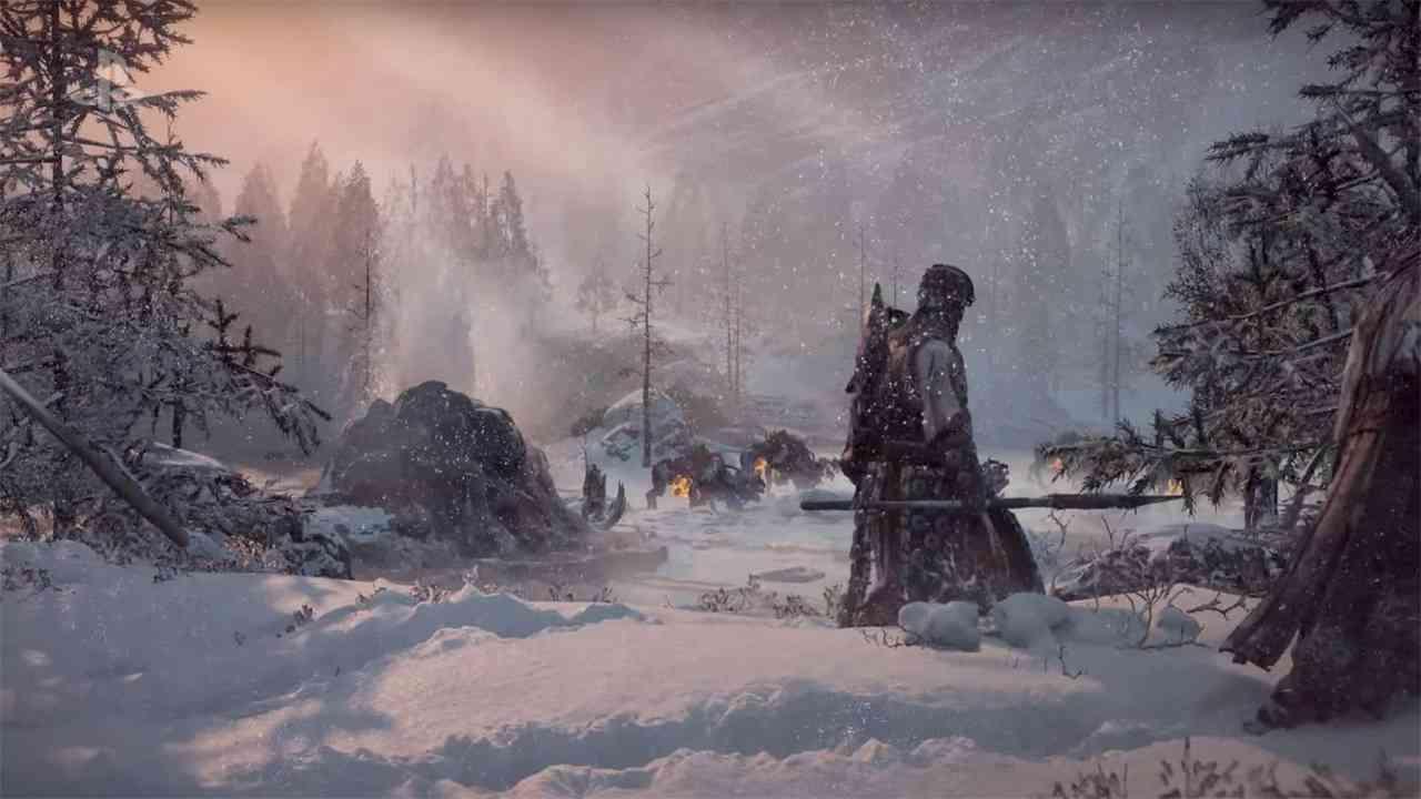 HORIZON ZERO DAWN Expansion THE FROZEN WILDS Trailer Revealed at E3