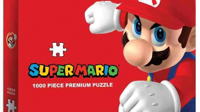 GameStop Exclusive Super Mario Puzzle