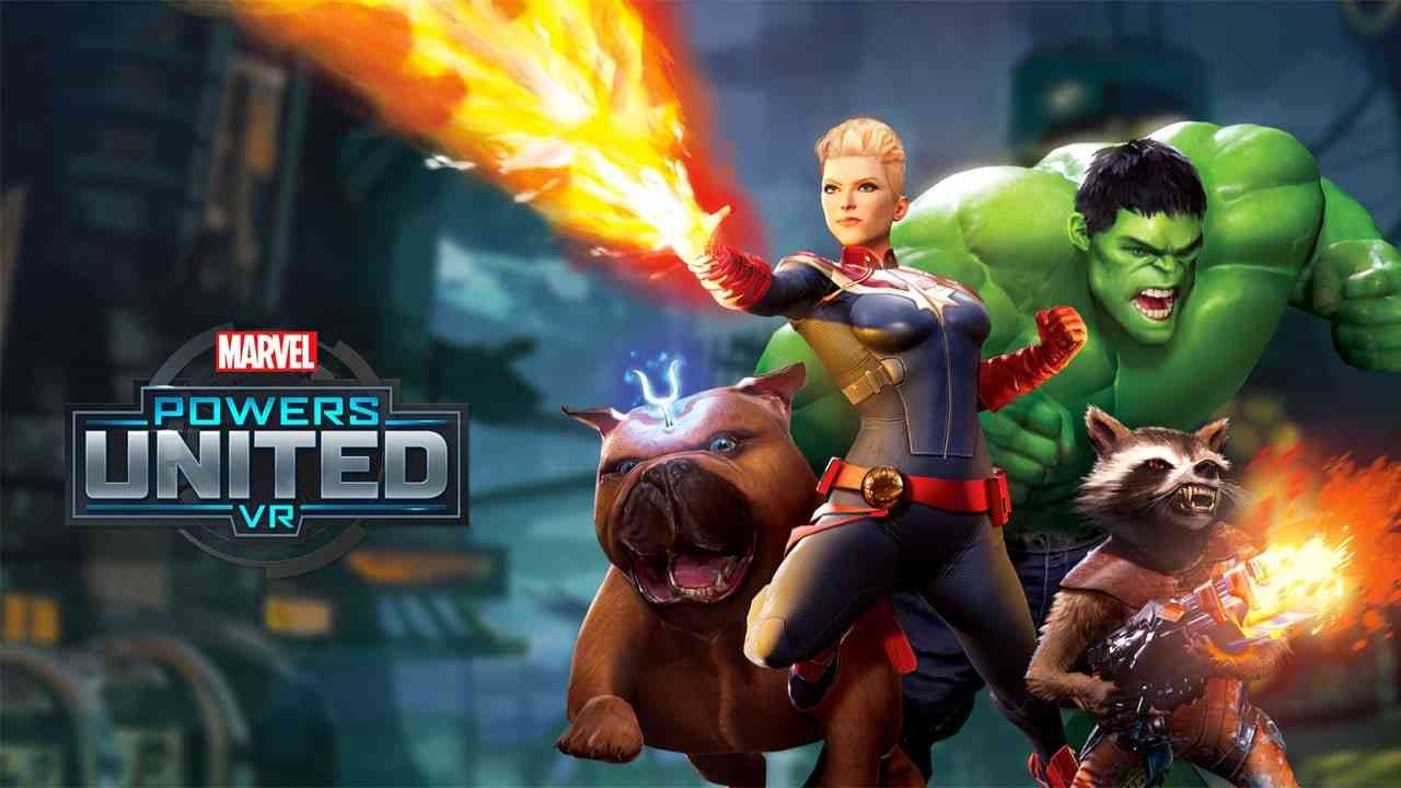 This game allows players become their favorite Marvel heroes in virtual reality