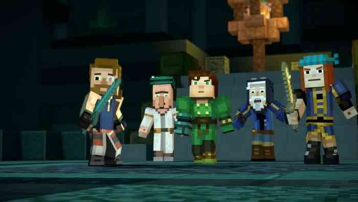 Minecraft: Story Mode Season 2, Episode 1 Top