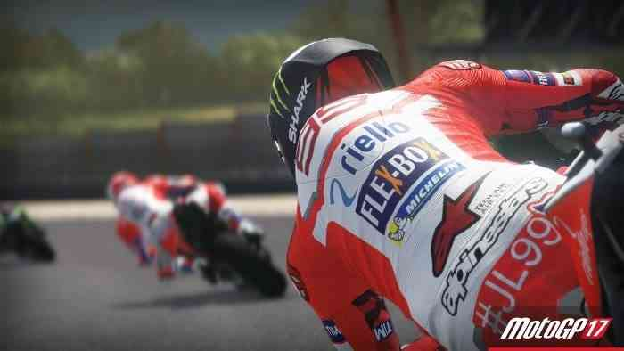 MotoGP 17 Screen