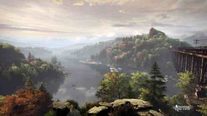 The Vanishing of Ethan Carter TOP SCREEN