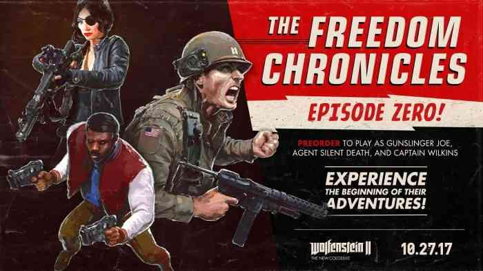 Season pass for Wolfenstein II: The New Colossus detailed