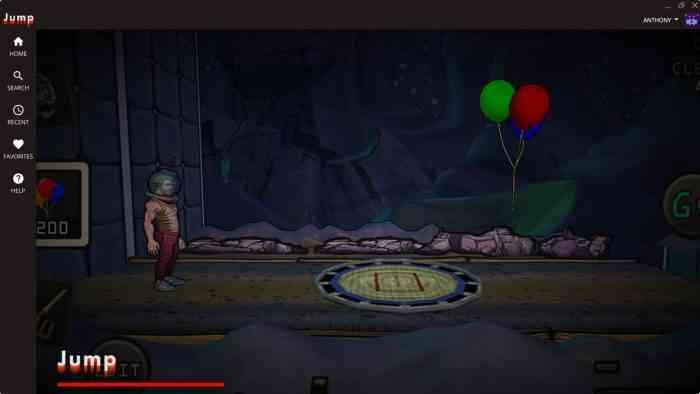 jump loading game