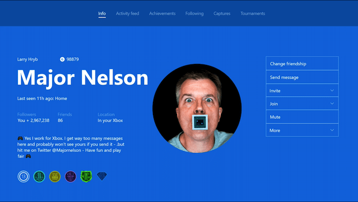 Microsoft Launches Major Xbox One Update With Custom Gamerpics And Co-Streaming