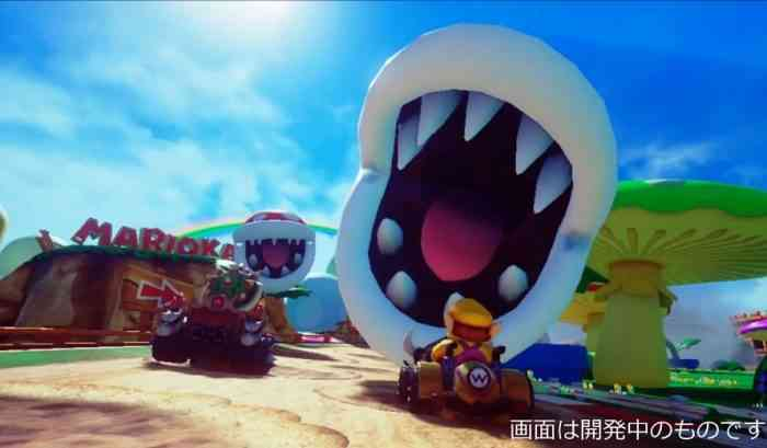 Check Out What Mario Kart Would Look Like In Virtual Reality