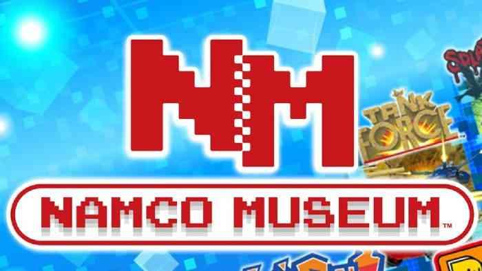 Namco Museum retro game