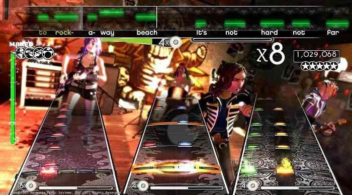Rhythm Games Rock Band 1
