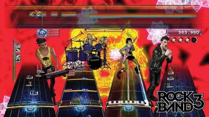 Rhythm Games Rock Band 3