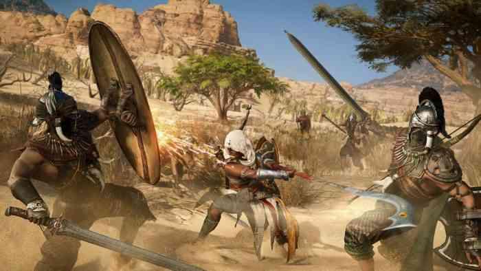 Assassin's Creed Origins Top Screen