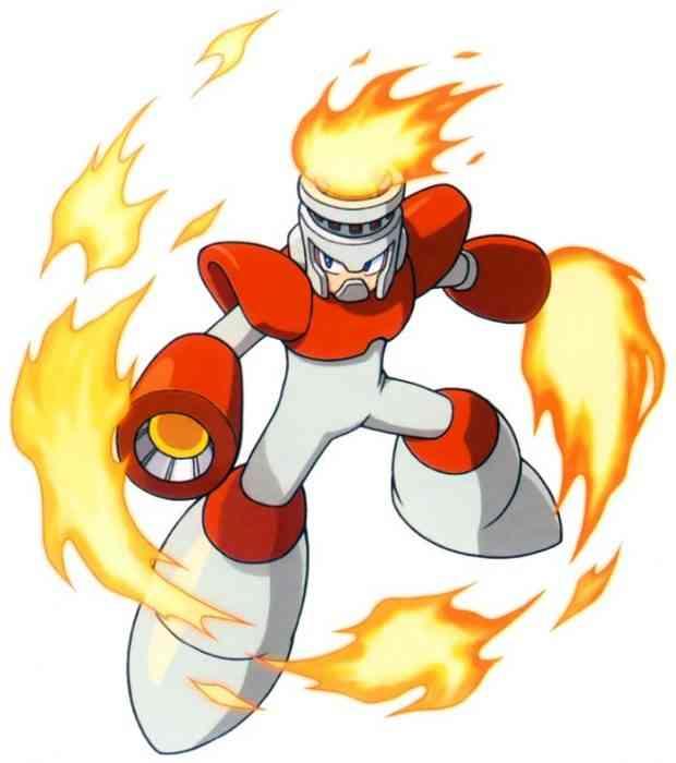 Mega Man Robot Masters Fire Man