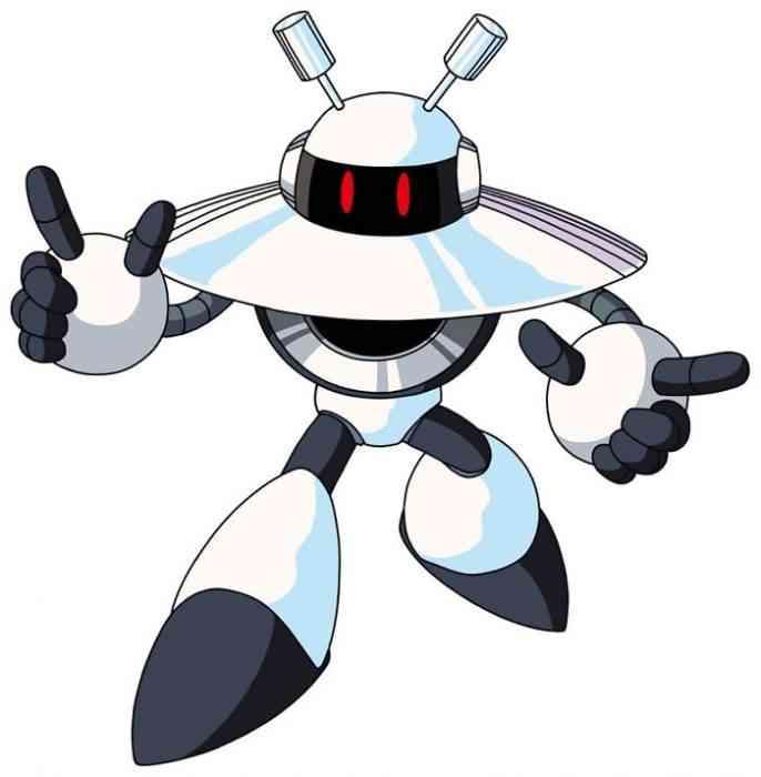 Mega Man Robot Masters Galaxy Man