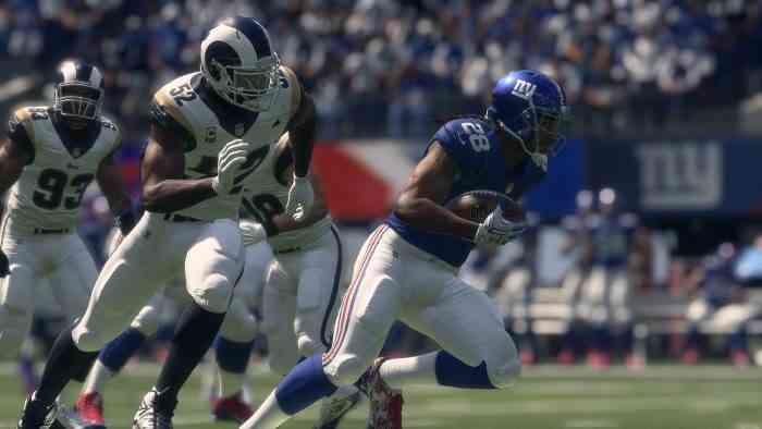 Madden NFL 18 Screen